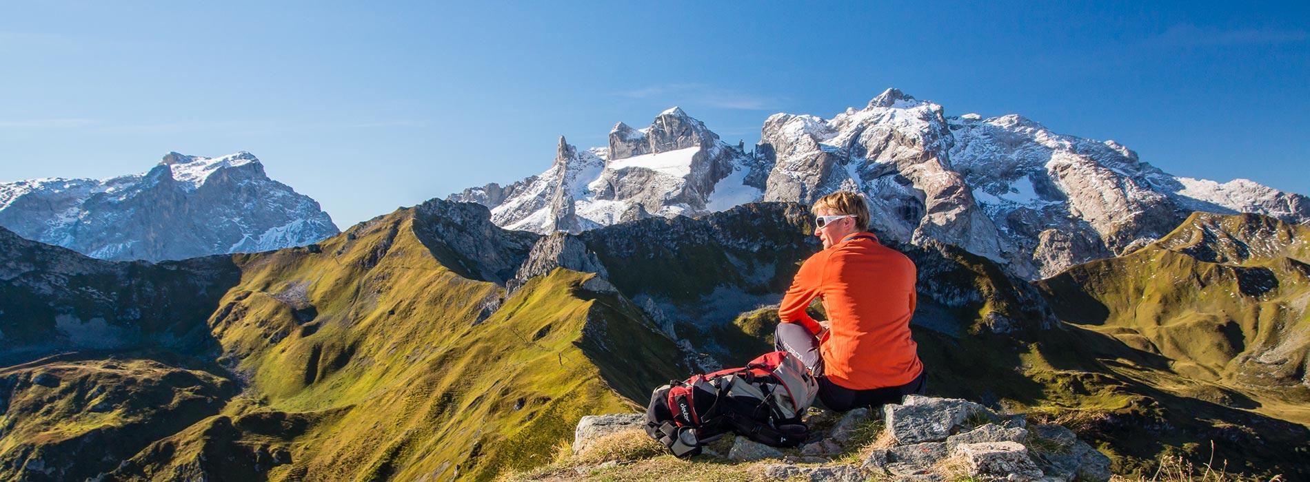 Bergsteigen Montafon