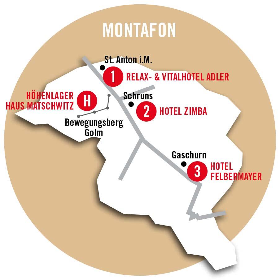 Montafon Genial Karte