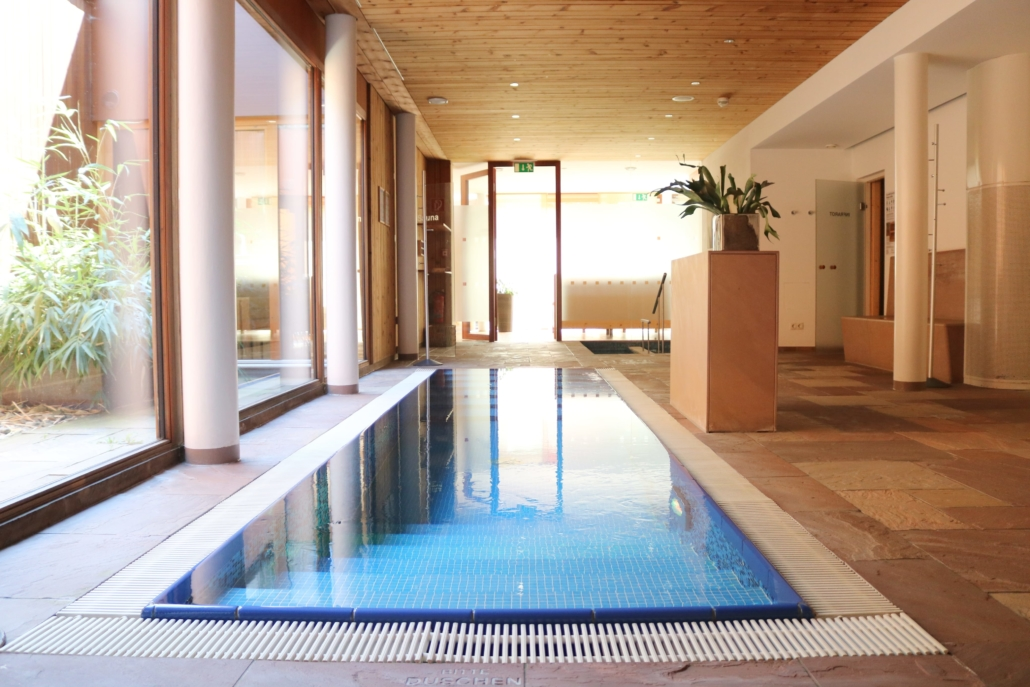 Tauchbecken Hotel Adler Montafon